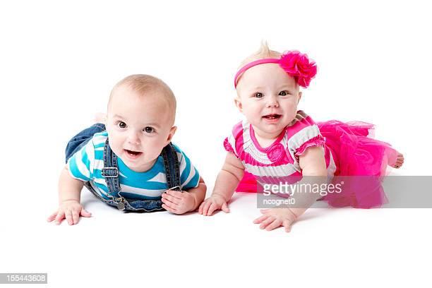 Lits jumeaux sur le ventre