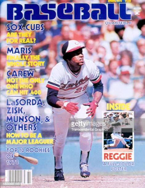 Twins outfielder Rod Carew is the cover boy for Baseball Quarterly magazine for Spring of 1978 published in New York City