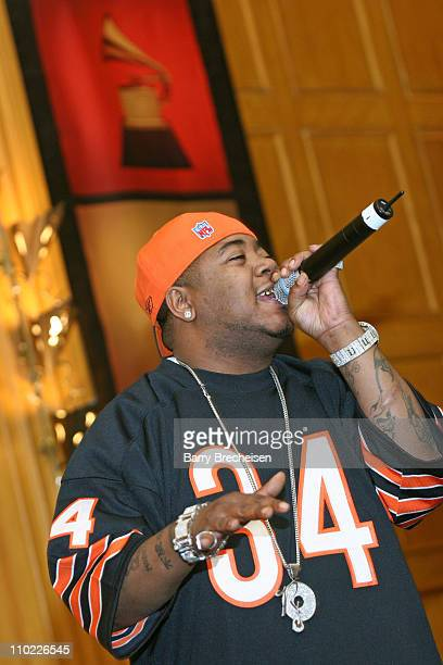 Twista during Recording Academy's 2005 Chicago Chapter Membership Celebration at Hotel Allegro in Chicago Illinois United States