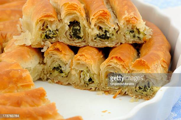 Twisted Spanakopita from Greece