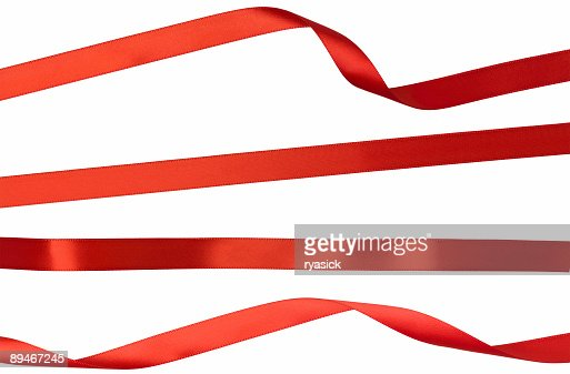 Red Isolated Ribbon