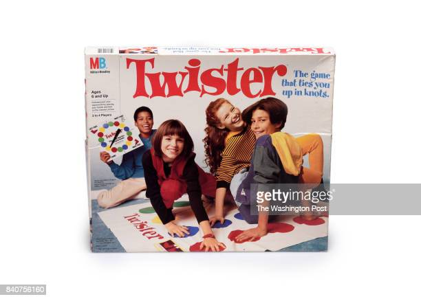 Twister game one of many Iconic toys thru the decades for the parenting special section on August 2017 in Washington DC