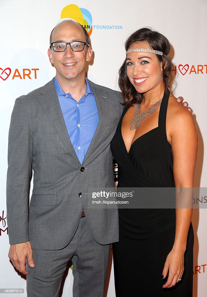 Twitter CEO and 'Heart and Humanity' Champion Dick Costolo and actress Sierra Mercier attend the CoachArt 'Gala of Champions' at The Beverly Hilton...