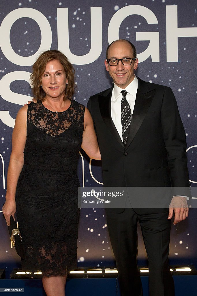Twitter CEO Dick Costolo and Lorin Costolo attend the Breakthrough Prize Awards Ceremony Hosted By Seth MacFarlane at NASA Ames Research Center on...