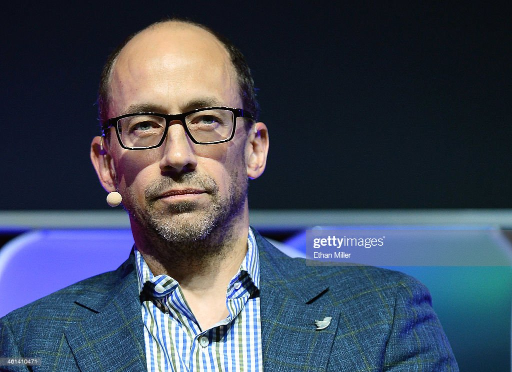Twitter CEO Dick Costolo speaks during the Brand Matters keynote address at the 2014 International CES at The Las Vegas Hotel Casino on January 8...