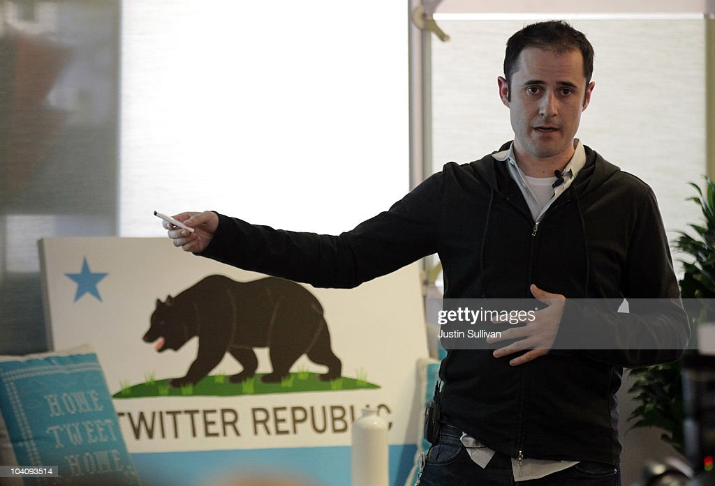 Twitter CEO Evan Williams announces the newly revamped Twitter website on September 14, 2010 at Twitter headquarters in San Francisco, California. Twitter launched a new version of the popular social media site in hopes it will be more user friendly. .