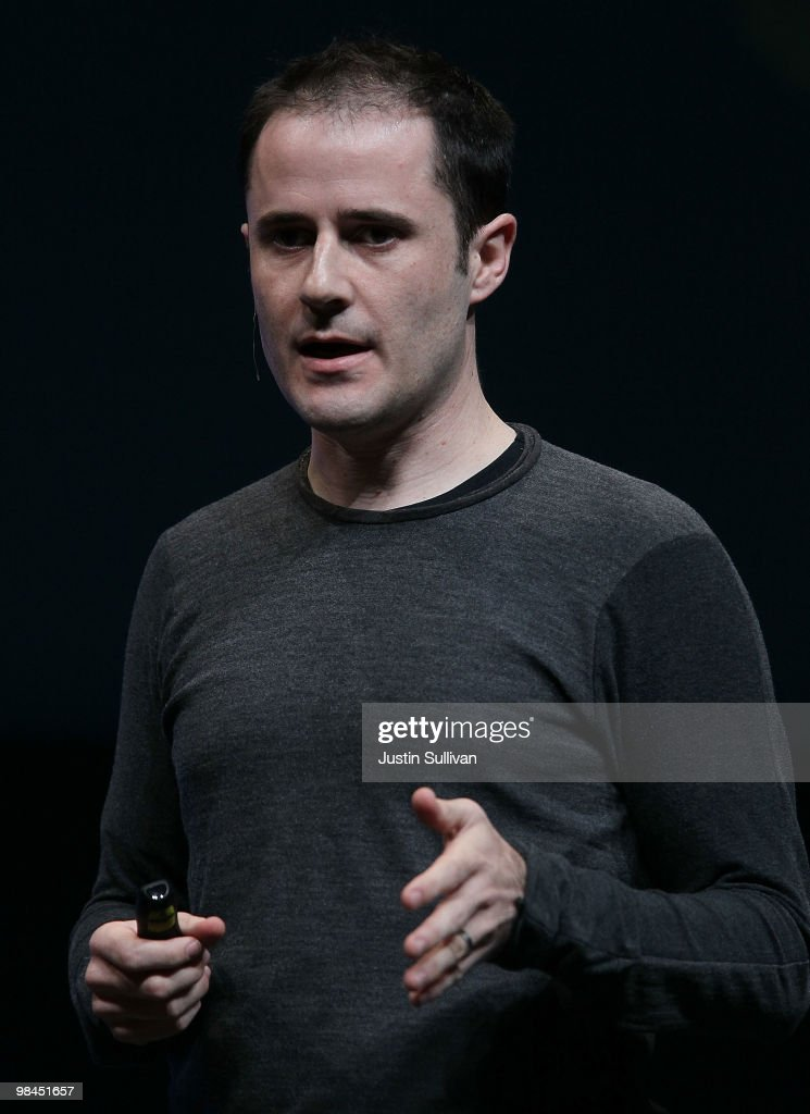 Twitter CEO Evan Williams speaks during the first annual Chirp, Twitter Developer's Conference April 14, 2010 in San Francisco, California. The conference is a two day event for developers who work with the popular social networking service.