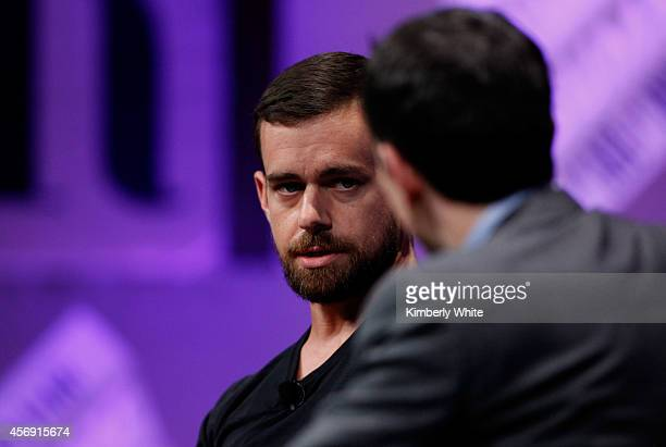 Twitter CoFounder and Chairman and Square CEO Jack Dorsey speaks onstage during 'From 7 Dwarves to 140 Characters' at the Vanity Fair New...