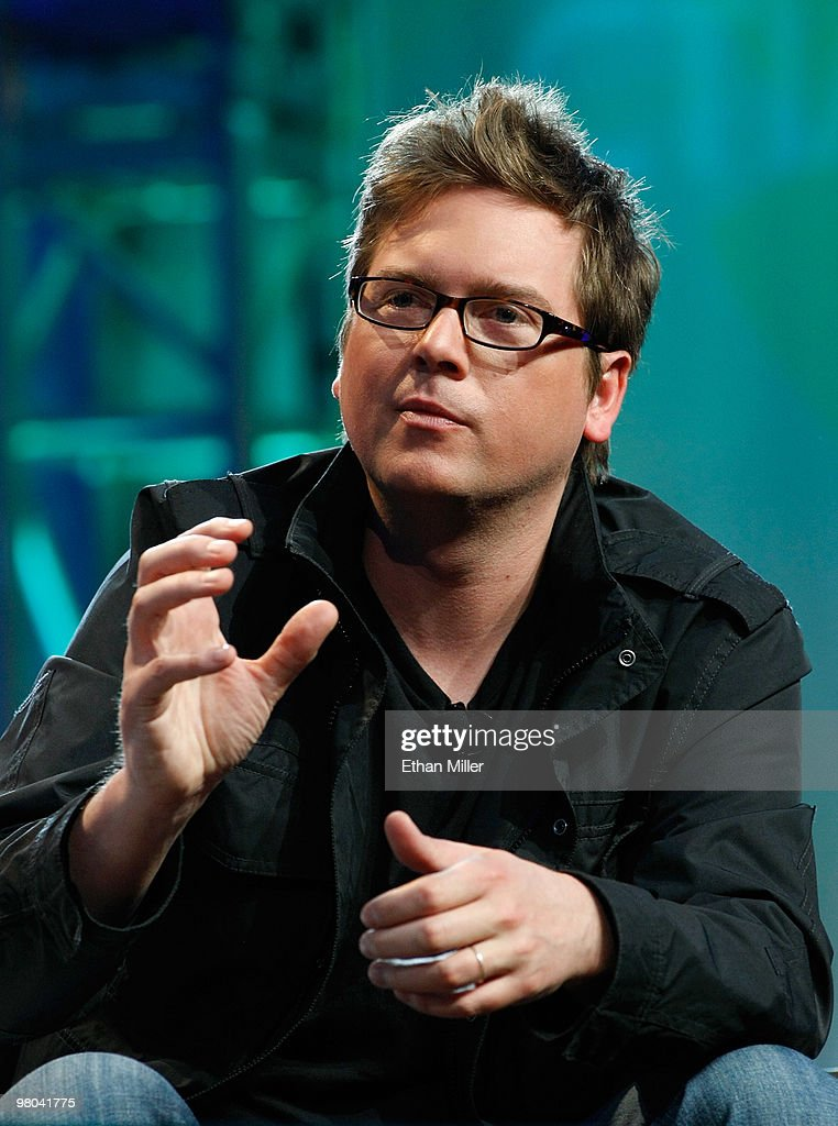 Twitter co-founder Biz Stone speaks during a round-table discussion at the International CTIA Wireless 2010 convention at the Las Vegas Convention Center March 25, 2010 in Las Vegas, Nevada. CTIA is the international association for the wireless telecommunications industry.