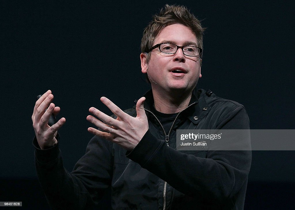 Twitter co-founder Biz Stone speaks during the first annual Chirp, Twitter Developer's Conference April 14, 2010 in San Francisco, California. The conference is a two day event for developers who work with the popular social networking service.