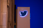 Twitter Inc signage is displayed outside of the company's headquarters in San Francisco California US on Wednesday Oct 21 2015 Twitter Inc is...