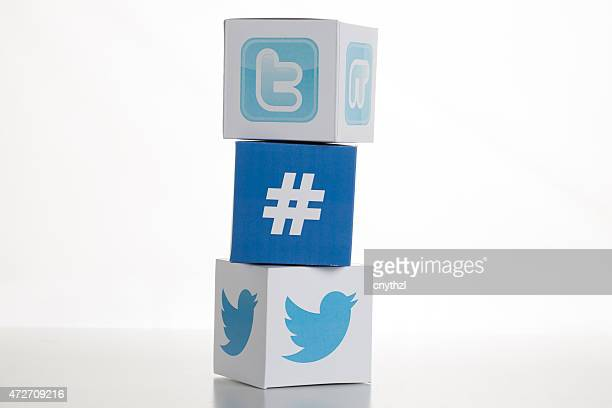 Twitter icone loghi -