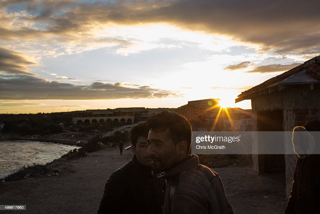Migrants On Island Of Chios November
