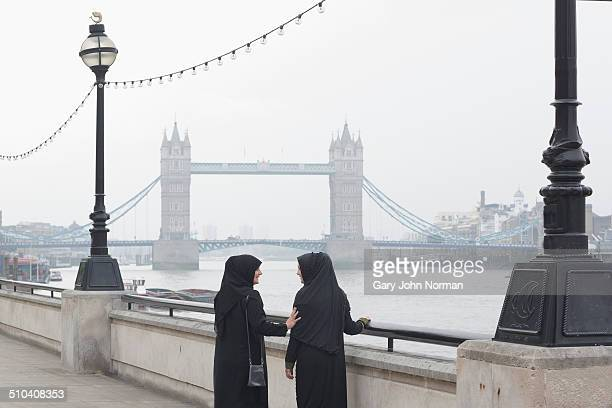 Two arab women in London