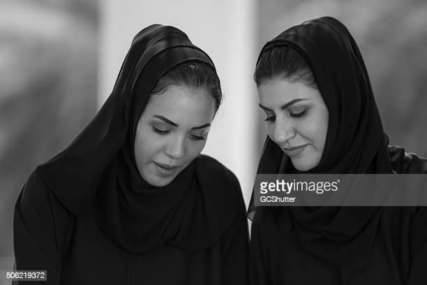 Zwei arabischen Frauen