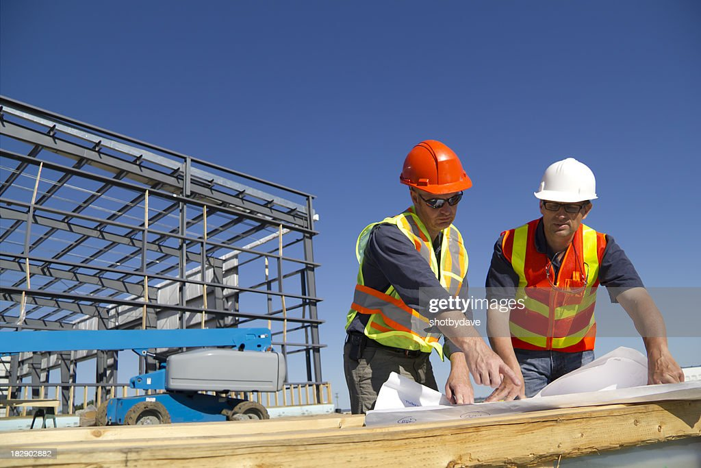 Two Architects : Stock Photo
