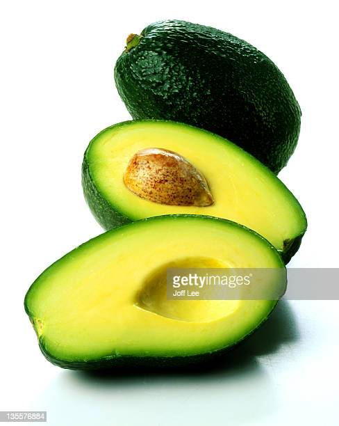 Two avocados - one halved