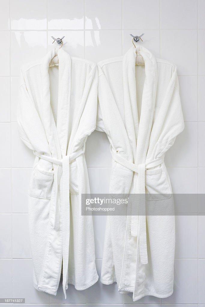 Two bath robes