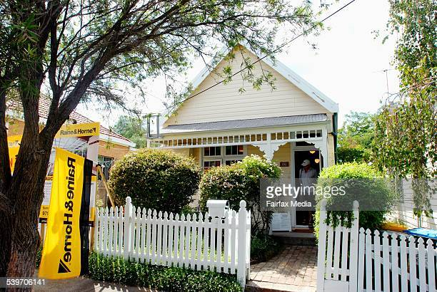 A two bedroom cottage in Ainsworth Street Lilyfield which sold at auction for $690 11 February 2006 SHD Picture by ADAM HOLLINGWORTH