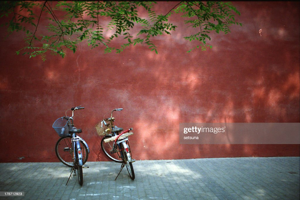 Two bicycles in Hutong