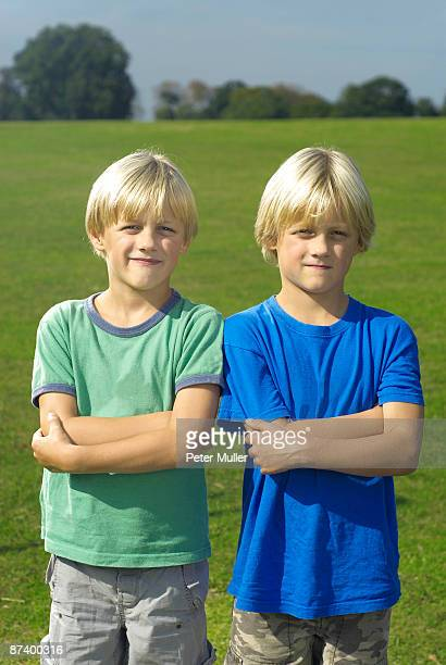 two blond boys