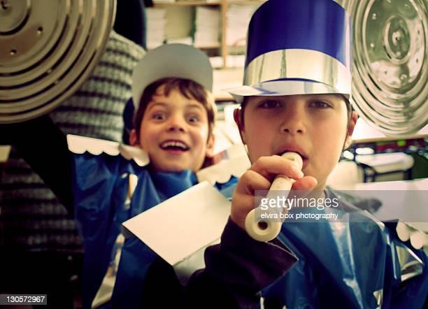 Two boys in Carnival