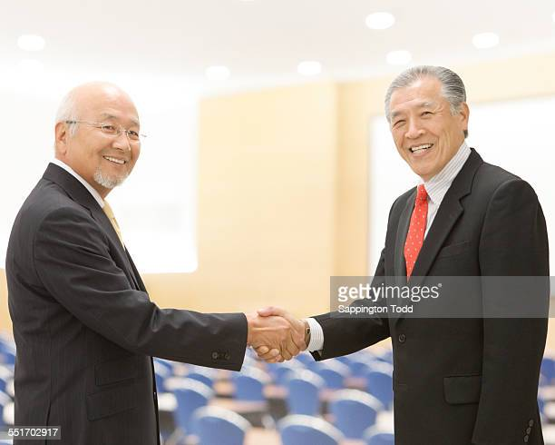 Two Businessman Shaking Hands