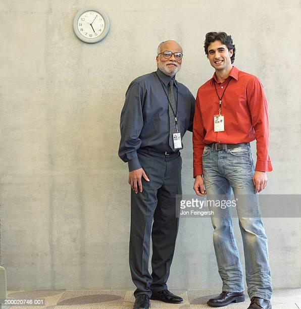 Two businessmen, portrait