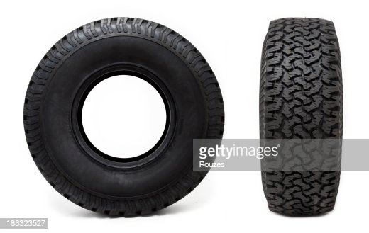 Two Car Tyres