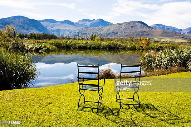 Two chairs, rural idyll