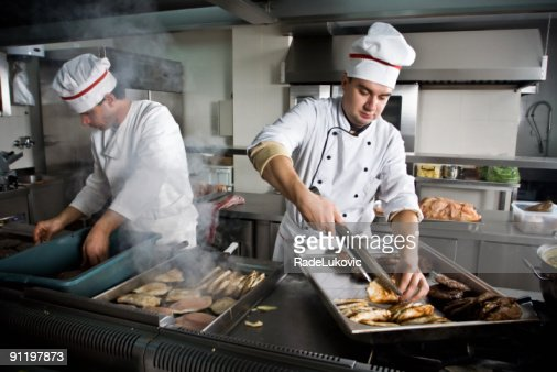Two chefs : Stock Photo