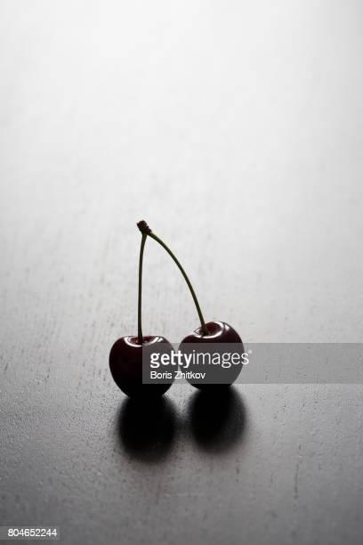 Two cherries.