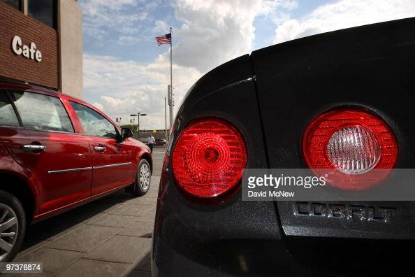 Two Chevrolet Cobalts are displayed at the Sierra Chevrolet auto dealership on March 2 2010 in Monrovia California A power steering problem that has...
