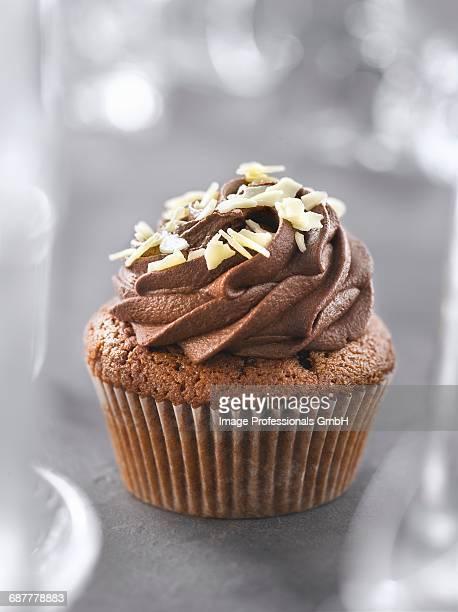 Two chocolate cupcake