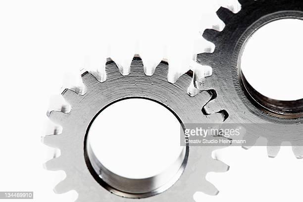 Two cog wheels, detail