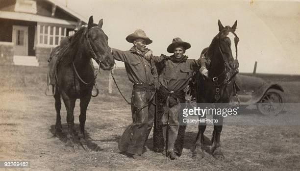 Two cowboys, 1926