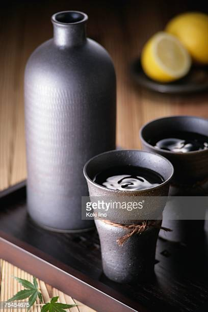 Two cups of shochu