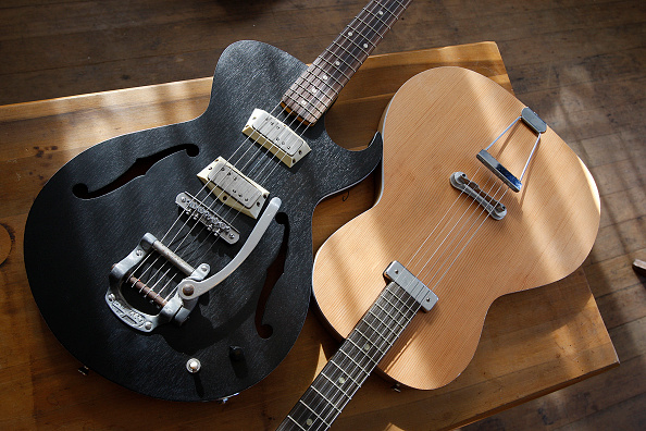 custom guitars stock photos and pictures getty images. Black Bedroom Furniture Sets. Home Design Ideas