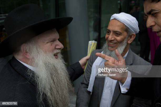 Two days after the London Bridge and Borough Market terrorist attack Londoners from all faiths and religions attended a vigil outside City Hall on...
