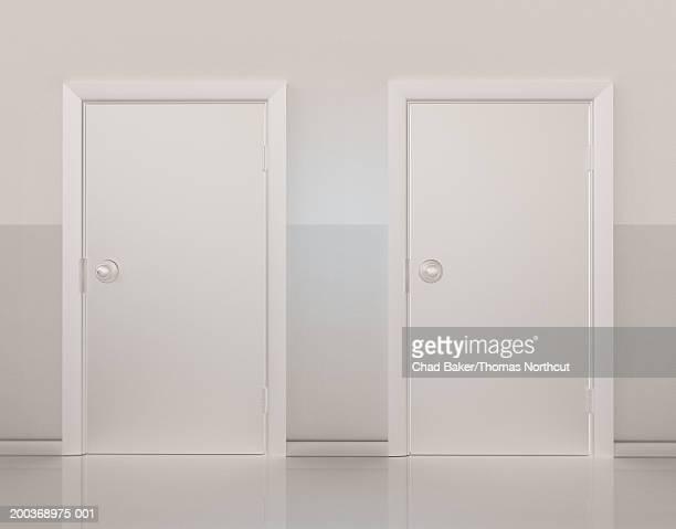 Two doors side by side (Digital)