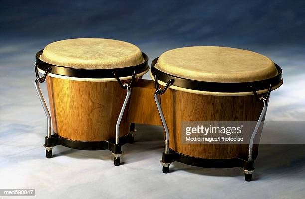 Two drums, close-up