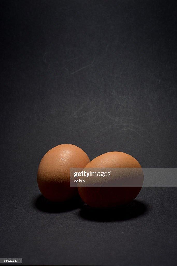 Deux œufs  : Photo