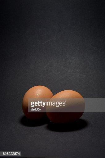 Zwei Eier  : Stock-Foto