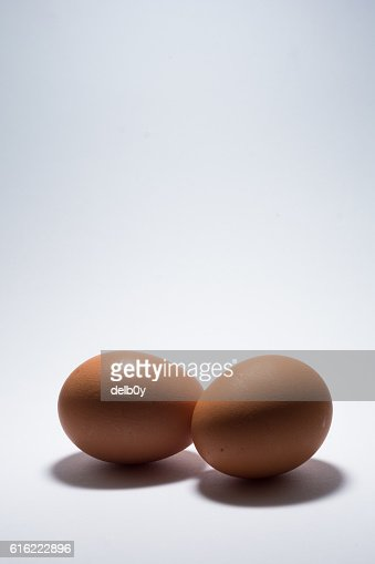 Two Eggs : Stock Photo