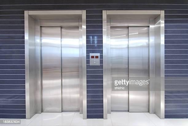 two elevators