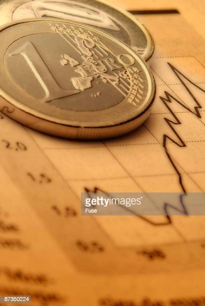 Two Euro coins and quotation