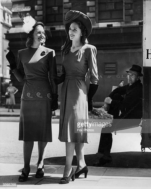 Two examples of mid1940's daywear