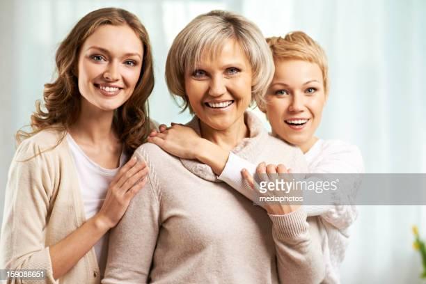 Zwei weibliche Generationen