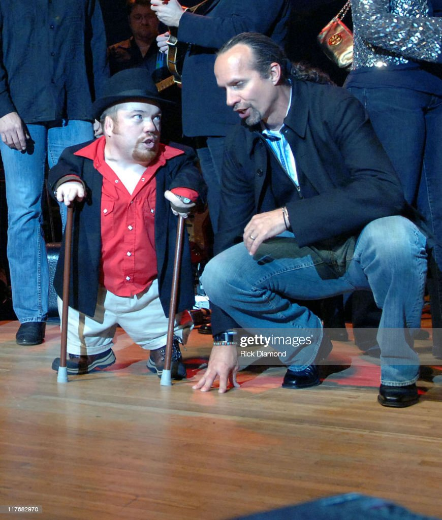 Two Foot Fred and Kyle Petty during Sprint and SunTrust presents Sound & Speed - Day1 at Wildhorse Saloon in Nashville, TN., United States.