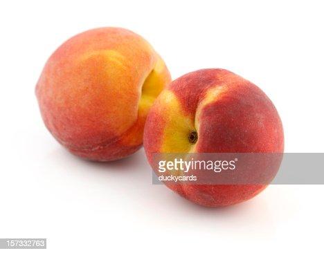 Two Fresh Peaches